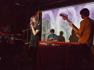 Still Corners, Mausoleum and Foxes In Fiction at The Drake Underground in Toronto