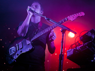 M83 and Active Child at Lee's Palace in Toronto