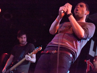 The Twilight Sad and Odonis Odonis at Lee's Palace in Toronto