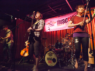 Aerials Up, Old World Vulture, Squarehead and more at Canadian Musicfest