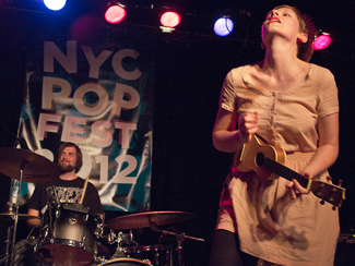 NYC Popfest with Allo Darlin', The Ladybug Transistor, The Wave Pictures, and White Town at Littlefield in Brooklyn