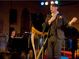 Patrick Wolf and Woodpigeon at The Music Gallery in Toronto